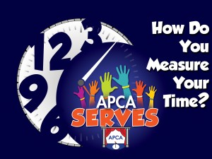 apca serves CLOCK logo NEW